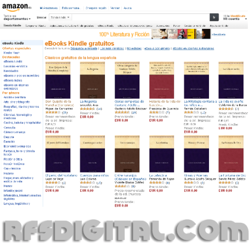 Amazon - eBooks Kindle gratuitos [Descarga de libros gratis]