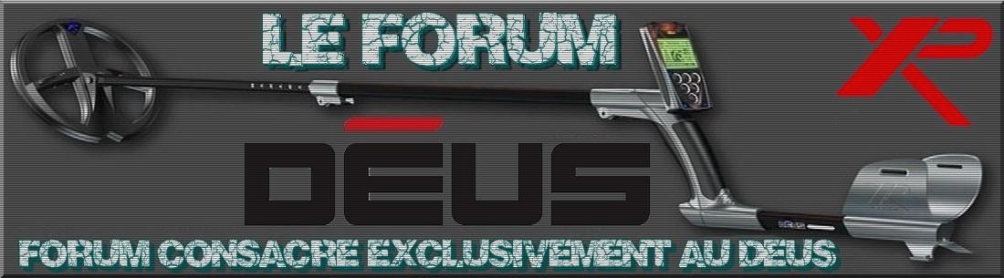 forum détection déus xp Index du Forum