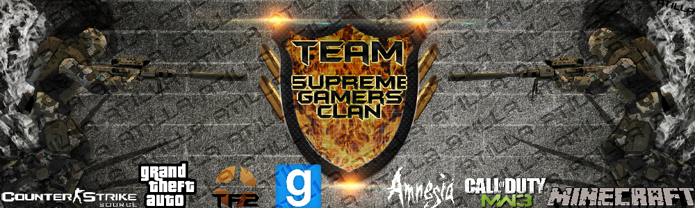 Supreme Gamers Clan Index du Forum