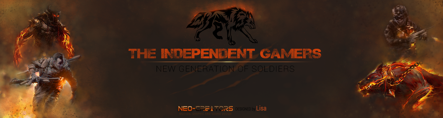 The Independent Gamers : New generation of Soldiers Index du Forum
