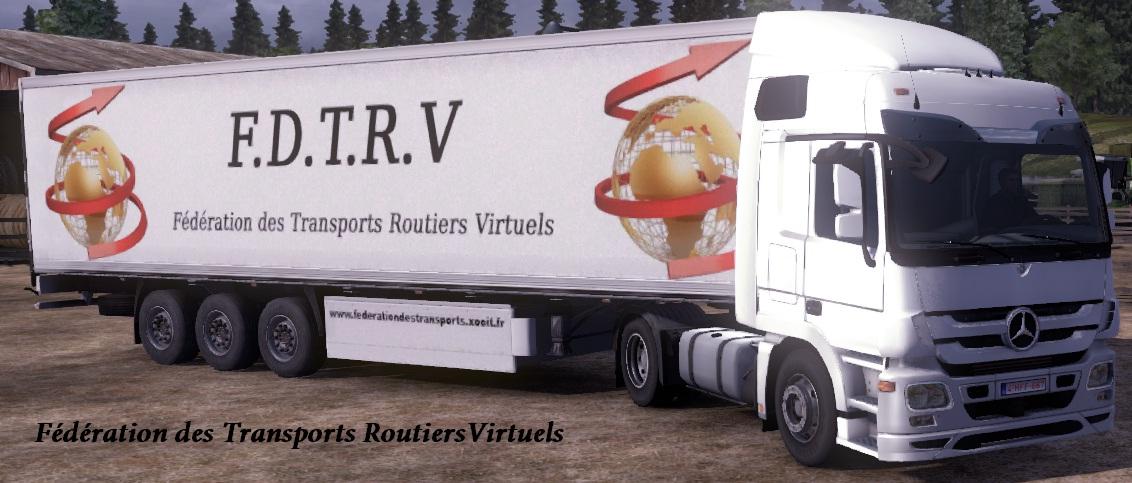 Fédération des Transports Routiers Virtuels Index du Forum